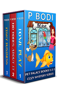 Pet Palace Cozy Mystery Series Books 1-3