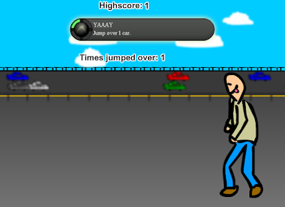Highway Jumper Newgrounds flash game Evan210 retards favorite pasttime