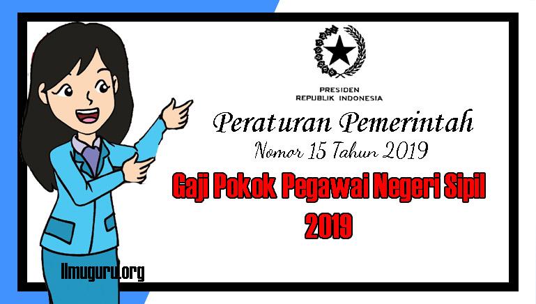 PP Nomor 15 Tahun 2019
