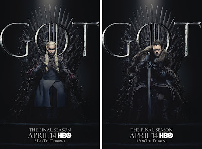 Game of Thrones: The Final Season #ForTheThrone Character Poster Set