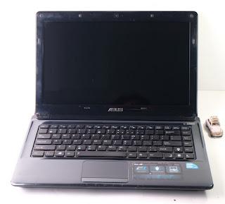 Laptop Gaming Asus A42J Bekas