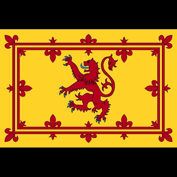 Logo Gambar Lambang Simbol Negara Skotlandia PNG JPG ukuran 600 px