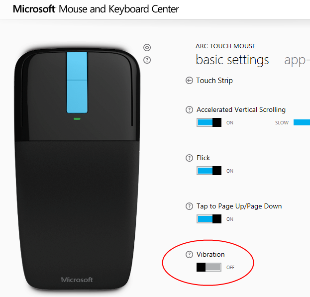 How to Turn Off Microsoft Arc Touch Mouse Scroll Sound Vibration
