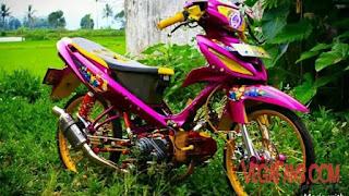 Foto Vega ZR Thailook Style Ungu