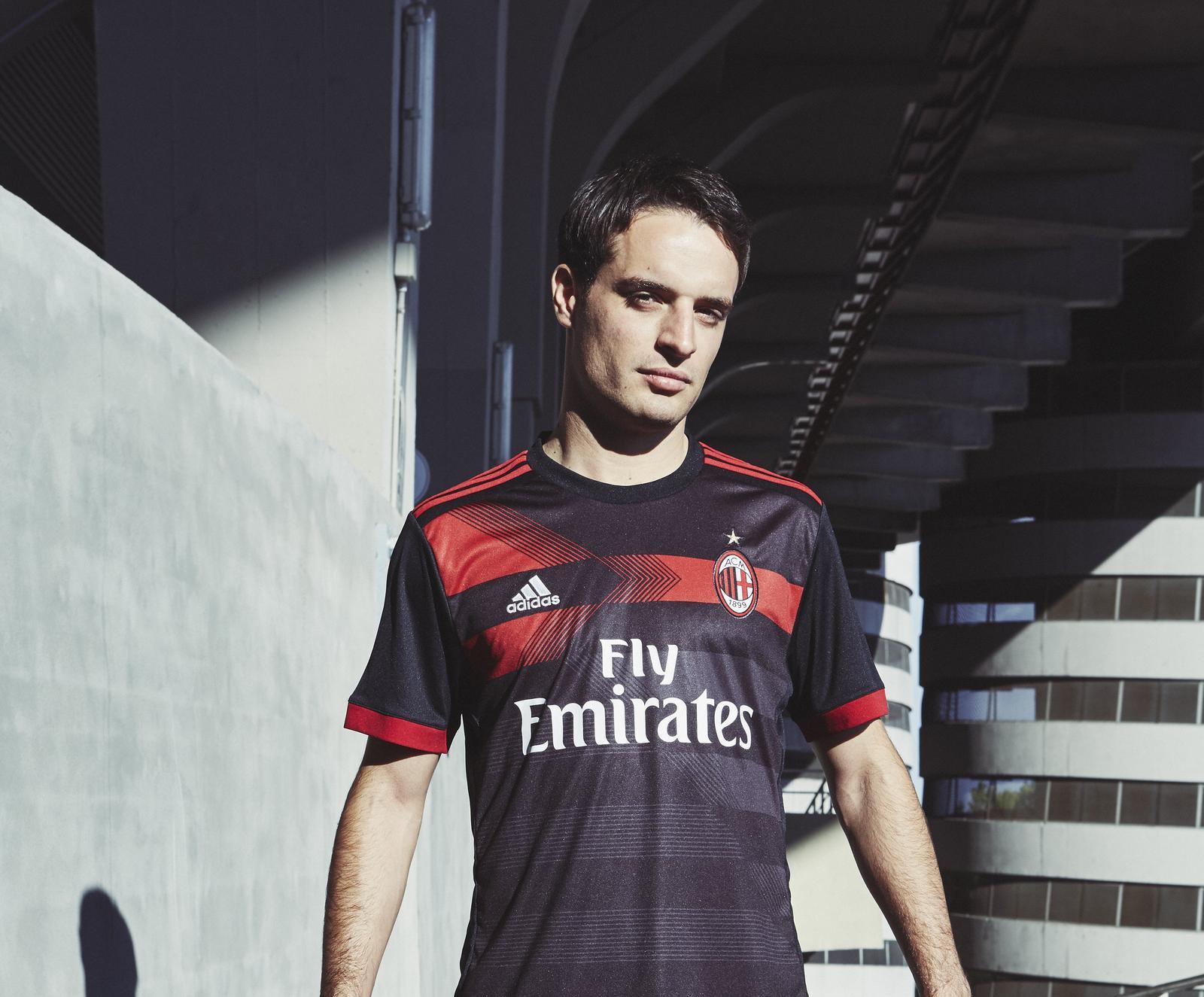 Maillot Extérieur AC Milan noir