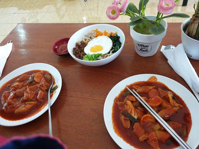 Tempat makan makanan Korea murah di Jogja Yogyakarta