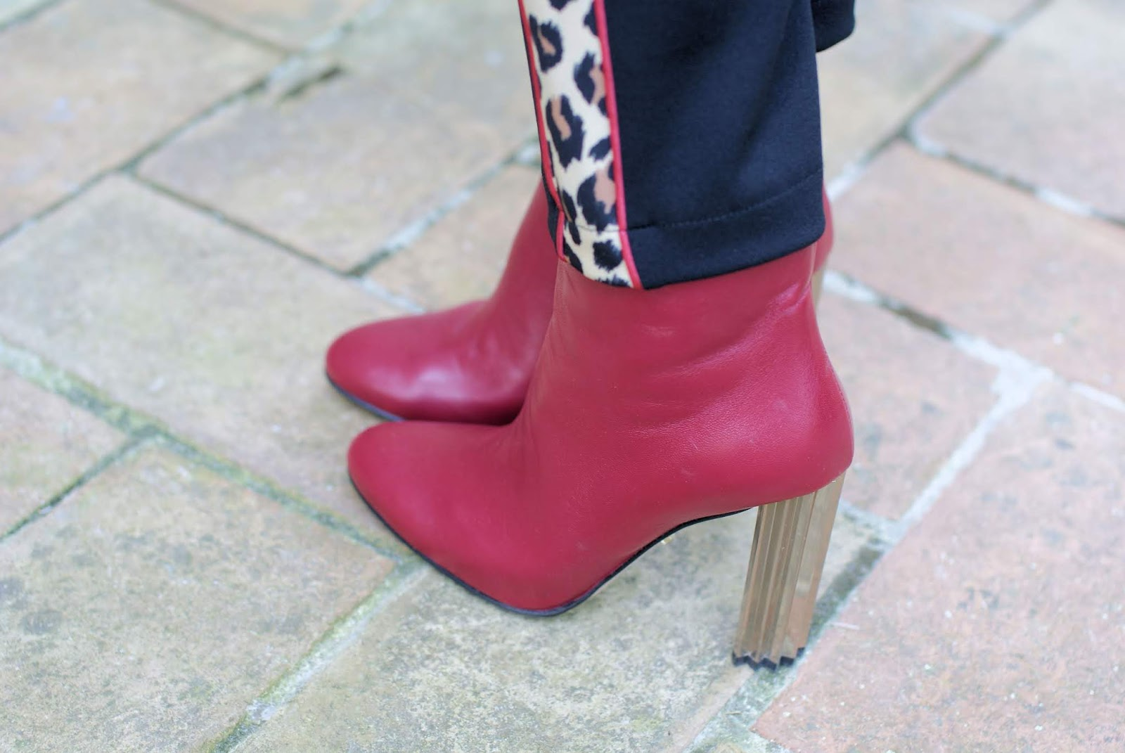 Red Le Silla Rachel ankle boots on Fashion and Cookies fashion blog, fashion blogger style