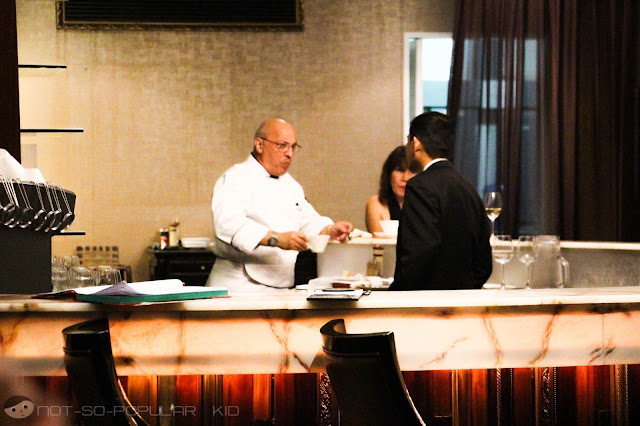 Head Chef of Dusit Thani's Tosca