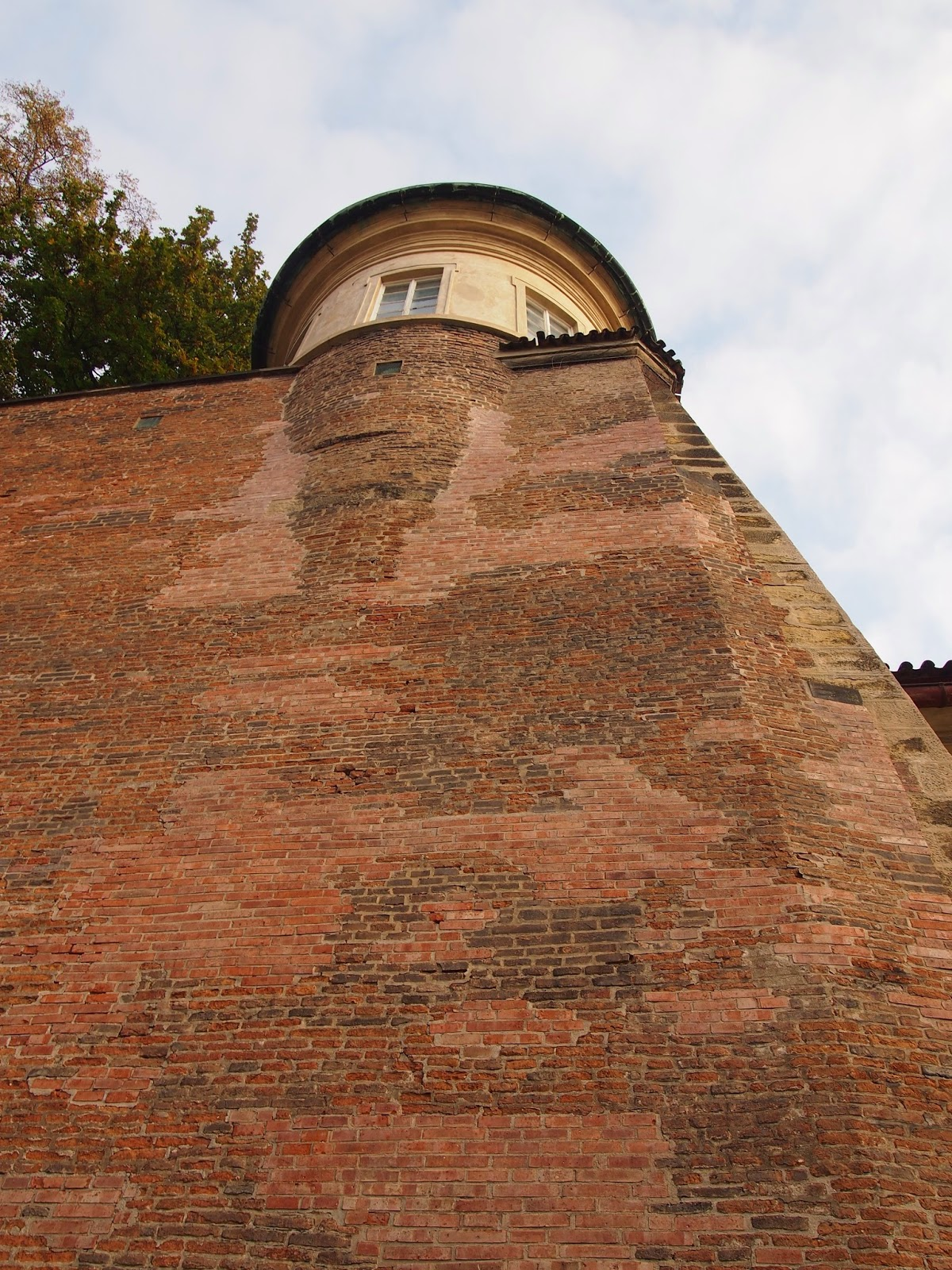 A wall in the Prague Castle