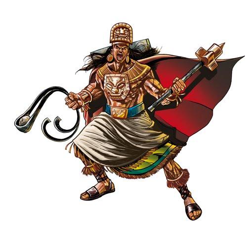 Fotos de guerreros incas