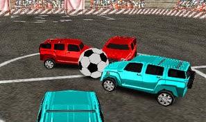 لعبة سيارة كرة القدم