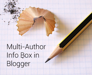How to Add a Multi-Author Info Box in Blogger Posts