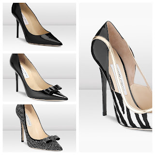 Jimmy Choo Pointed High Heeled Pumps