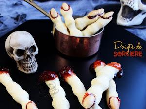 Doigts de sorcière pour Halloween