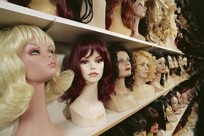 Современные парики