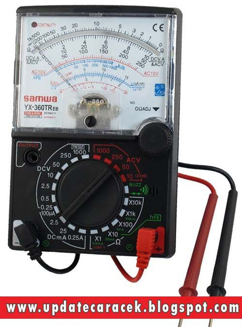 gambar avometer multimeter multitester analog