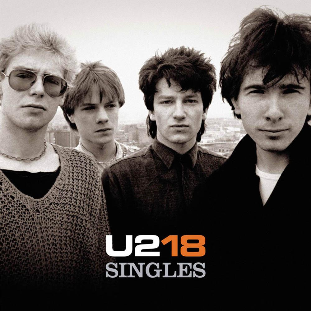 Encarte: U2 - U218 Singles