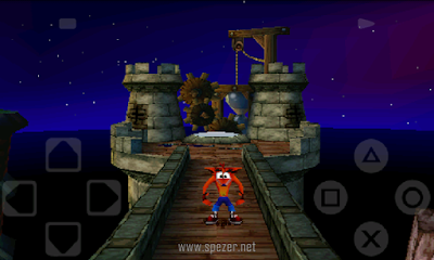 Bermain Game PS1 di Android