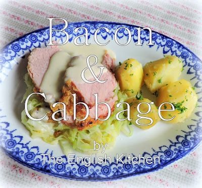 Boiled Bacon & Cabbage with a Mustard Sauce