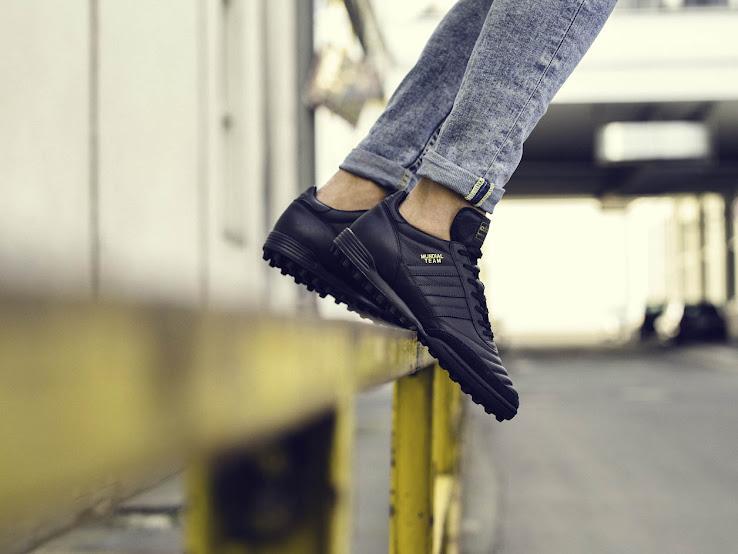 wholesale dealer fa0e4 ff7fa Black   Gold Metallic Adidas Mundial Team 2017 Boots Released