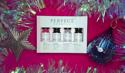Perfect Formula Nail Essentials Collection: Pink Gel Coat, Clear Gel Coat, Daily Moisture and My Favourite Top Coat
