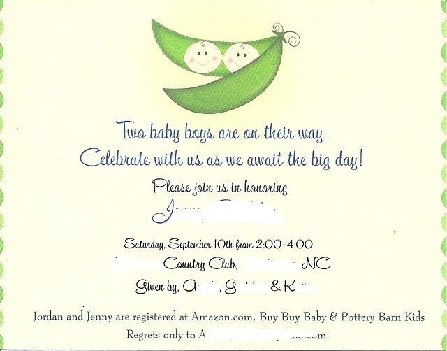Wedding Invitation Regrets: Polite Decline Of Baby Shower Party Invite