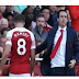 Ramsey snubs Unai Emery hand shake after he was subbed against Watford
