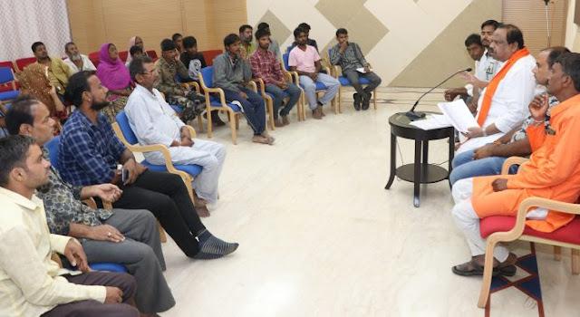 ratlam news- प्रधानमंत्री आवास बीएलसी घटक के हितग्राहियों को जल्द मिलेगी बकाया किश्त - विधायक काश्यप