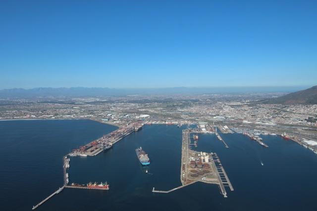 Vista aérea de V&A Waterfront