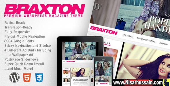 Braxton Premium Responsive WordPress Magazine Theme