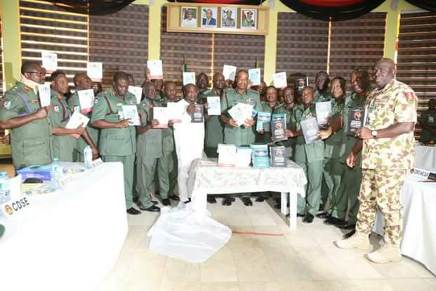 NIGERIAN ARMY LAUNCHES BOOKS ON CURRICULUM FOR BASIC CRITICAL THINKING, SELF-AWARENESS AND JUDGEMENT