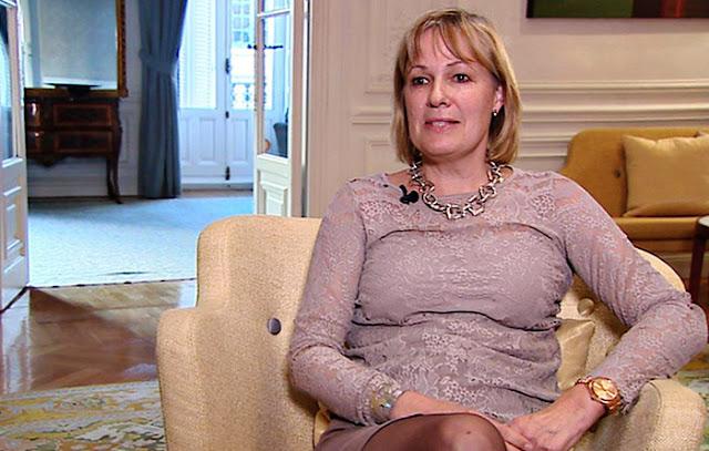 Cecilia Julin, Embajadora de Suecia en España (Photo: RTVE)