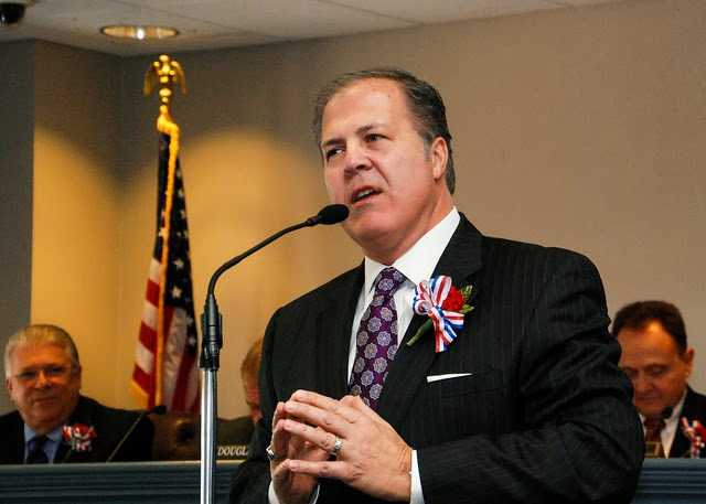 Freeholders Reorganize-Pledge No Increase in County Taxes