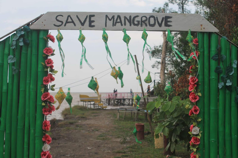 Cinta Mangrove Park Bakau Besar - Catatan Nizwar ID