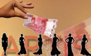 inisial prostitusi SB