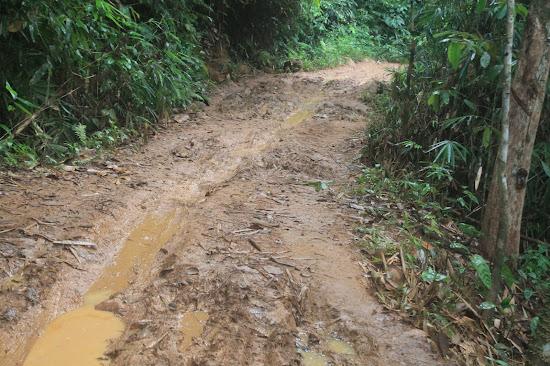 Jalan Berlumpur Batu Timah - Catatan Nizwar ID