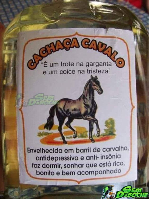 CACHAÇA CAVALO