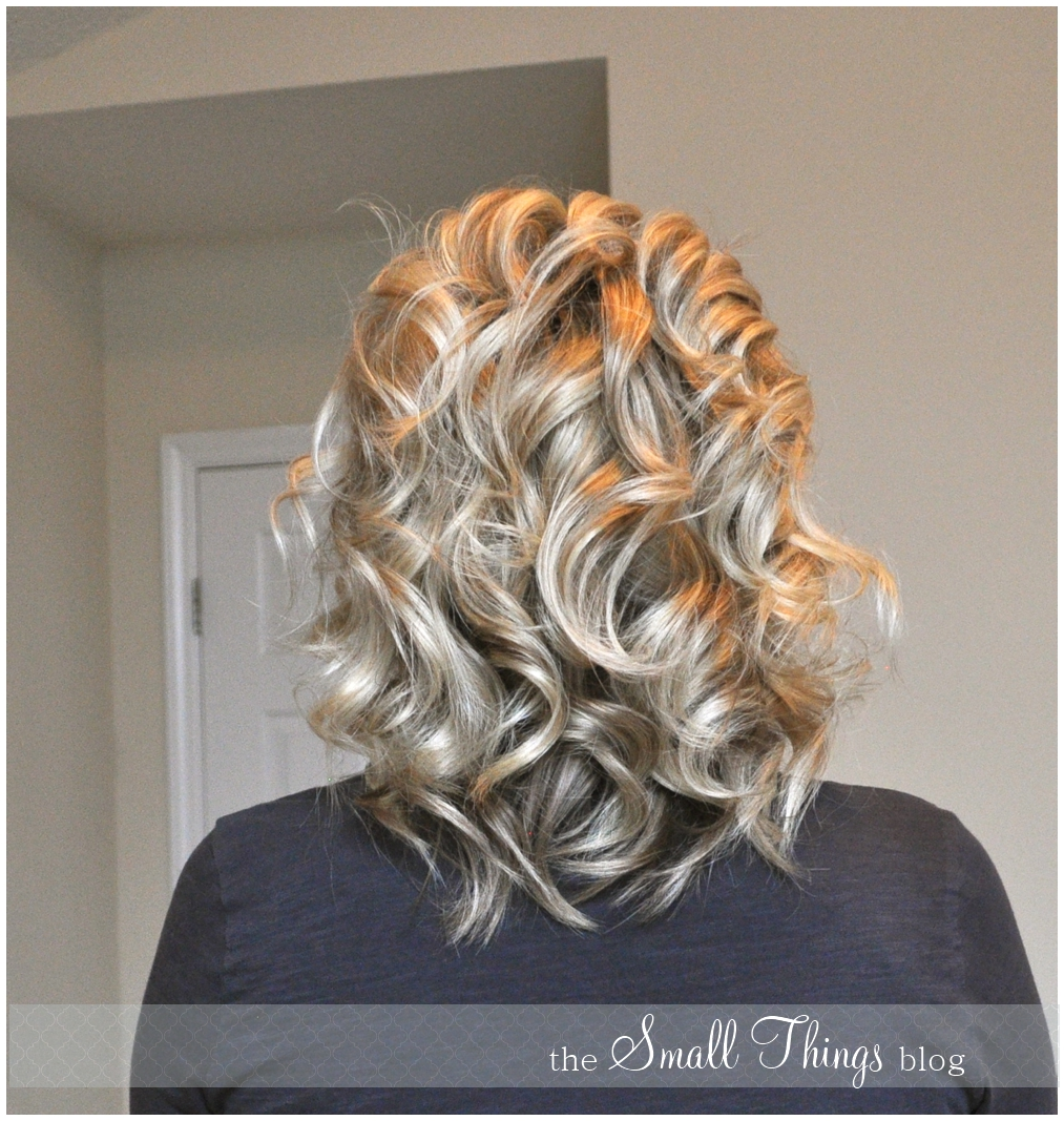 Curling With A Flat Iron The Small Things Blog