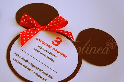 Zaproszenie Na Urodziny List
