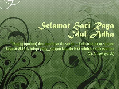 Kartu Ucapan Selamat Idul Adha Terunik