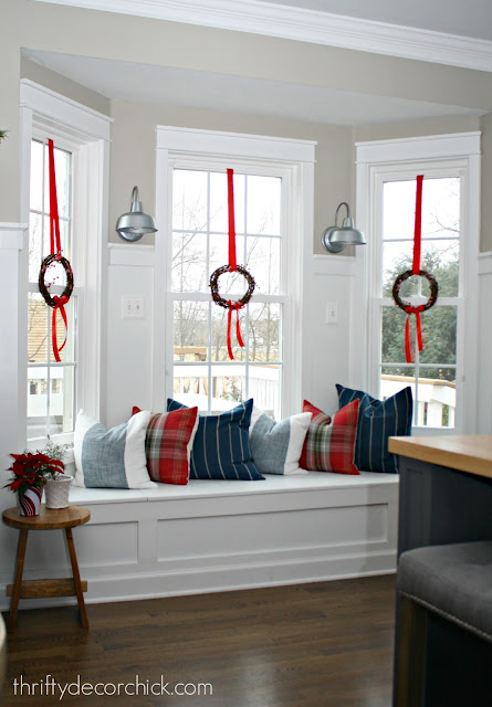 how to add a window seat to bay window