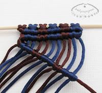 węzeł rypsowy - makrama - 1