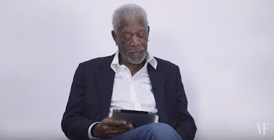Morgan Freeman and his version of  'Love Yourself'