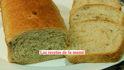 Receta De Pan De Molde Integral Con Semillas Muy Tierno