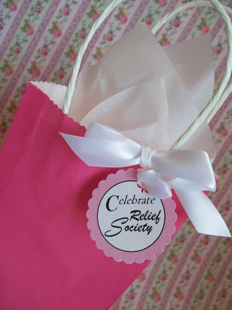 Relief Society Gift Tags