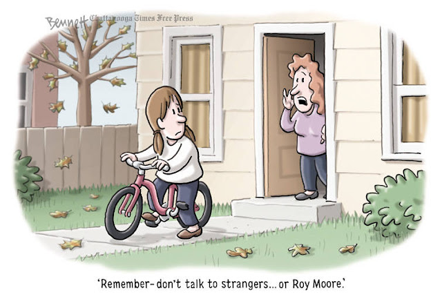 Little girl starting off on bicycle ride.  Mother says,