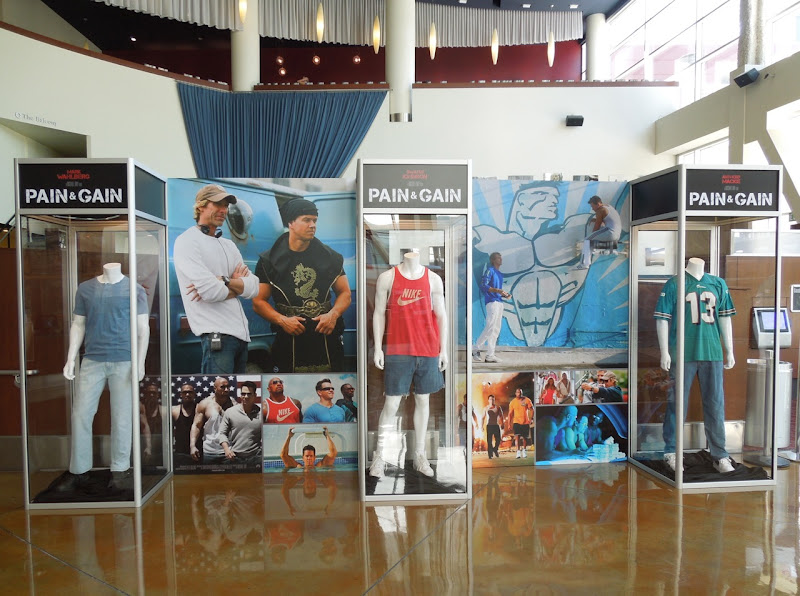 Pain and Gain movie costume exhibit