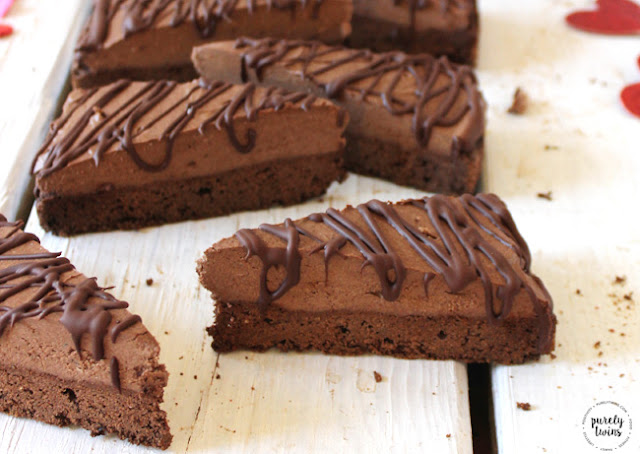 Recipe For Cashew Nut Brownie With Chocolate Mousse