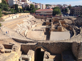 Ancient Roman Amphitheater in Tarragona