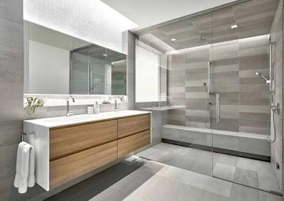 contemporary bathroom tiles design ideas and trends 2018, bathroom tiles 2018